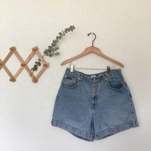 Vintage High Waisted Calvin Klein Shorts